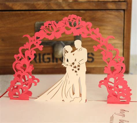 3d greeting card templates card design ideas itaian wedding happy 3d