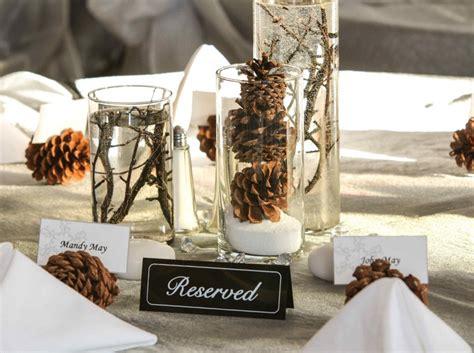 Tischdeko Hochzeit Winter by Basteln Mit Tannenzapfen 50 Diy Ideen