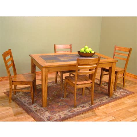 Slate Top Dining Table Set Home Furnishings Shop Furniture For Your Interiors Patio And Office Kitchensource