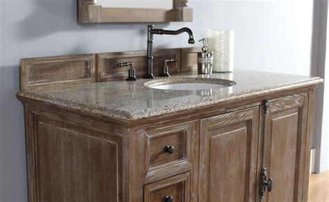 driftwood bathroom vanity 48 quot providence driftwood black rustic top vanity cabinet