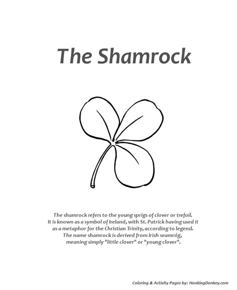 christian shamrock coloring pages st patrick day shamrock coloring pages az coloring pages