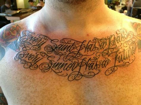 Chest Piece Quotes Quotesgram Chest Quotes About