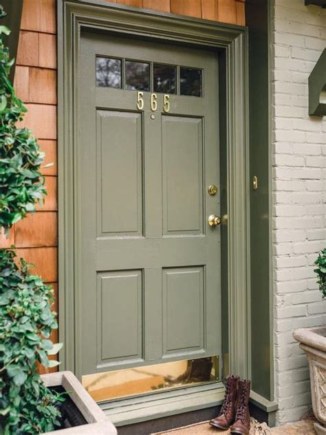 Curb Appeal Ideas Plates Green Colors And Front Doors Front Door Curb Appeal