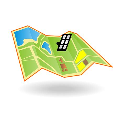 map icon vector for free use map icon