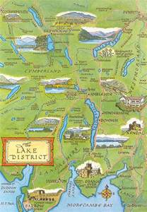 lakes district map