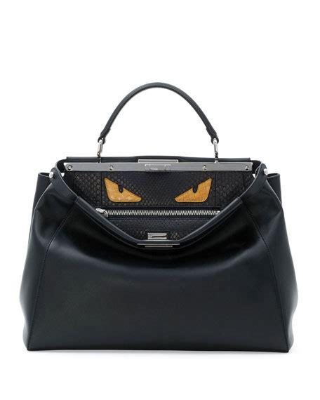 Sale Tas Fashion Fendi Monster163 fendi peekaboo bag black yellow