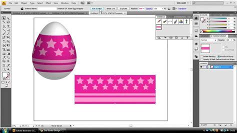 adobe illustrator pattern creation adobe illustrator tutorial creating an easter egg youtube