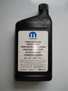 Jeep Patriot Power Steering Fluid Mopar Power Steering Fluid Lubricants Additives Mopar