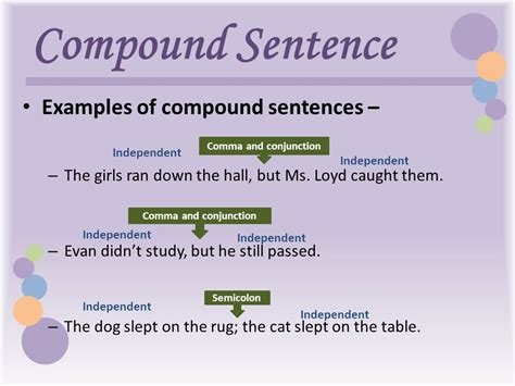 Exles Of Simple Sentences Worksheets the gallery for gt compound sentence exles
