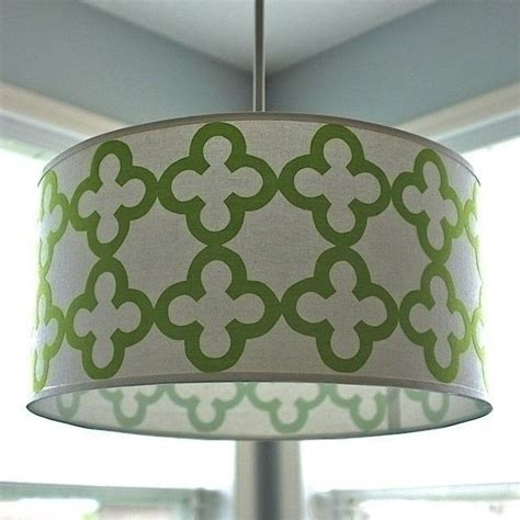 Diy Pendant Light Shade Quatrefoil Drum Shade Pendant Light 183 How To Make A L Lshade 183 Decorating On Cut Out Keep