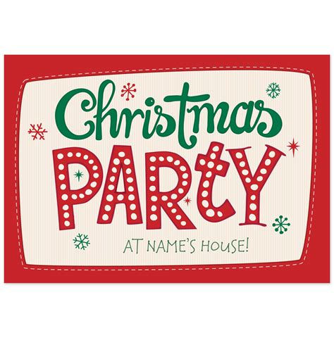 christmas party christmas party invitations cimvitation