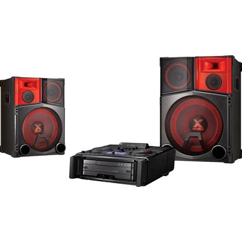 lg cm9950 4400w mini shelf speaker system cm9950 b h photo
