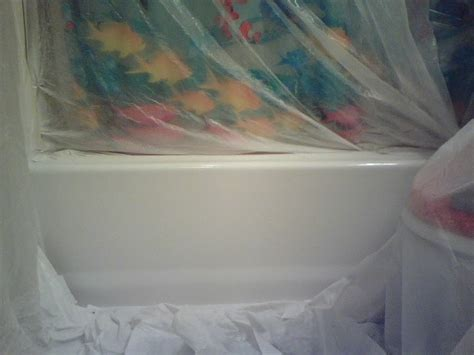 can bathtubs be painted painting outside of fiberglass tu shower surround
