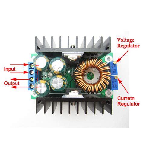 Step Buck Converter Dc Cc 9a 300w 5 40v To 1 2 35v 9a 300w adjustable power supply module dc dc cc cv buck converter step power module 7 32v