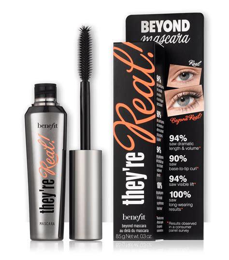 Mascara Benefit they re real lengthening mascara benefit cosmetics