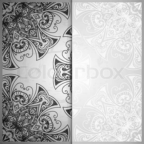 Wedding Banner Border by Vintage Vector Pattern Abstract Background