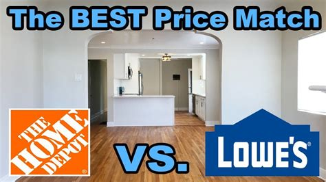 does lowes price match home depot hello ross