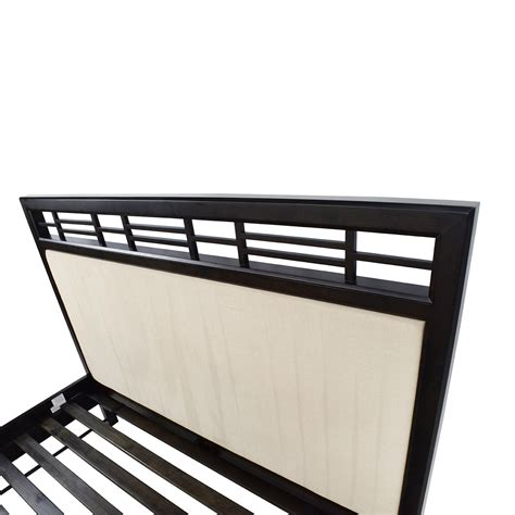Crate And Barrel Platform Bed 54 Crate And Barrel Crate Barrel Wood And Fabric Platform Bed Frame Beds