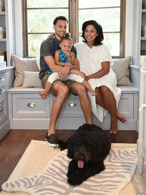 stephen and ayesha curry expecting second baby in july inside stephen curry s chic and gender neutral nursery