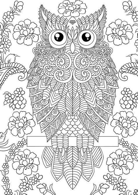 Pin by Ann Furnas on Design Patterns | Owl coloring pages
