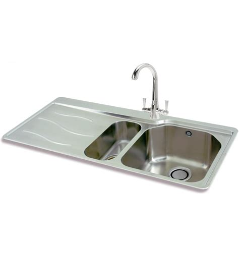 inset kitchen sinks stainless steel
