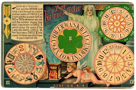 Thursday Is Request Day Fortune Teller Game Card Bunny Make Your Own Wheel Of Fortune