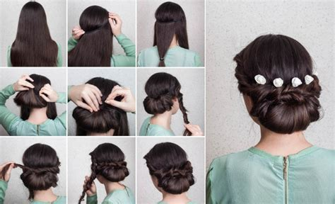 Bridal Bun Hairstyles Step By Step by Wedding Hairstyles Updo Tutorial In 10 Easy Steps