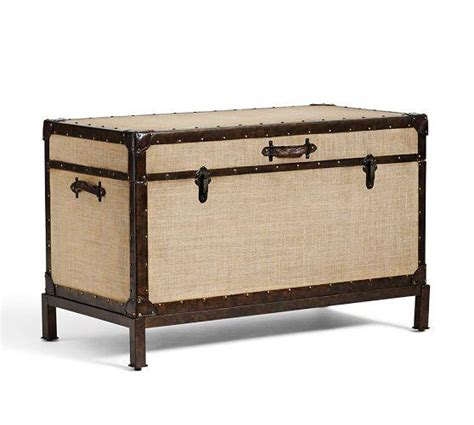 redford beige end of bed trunk
