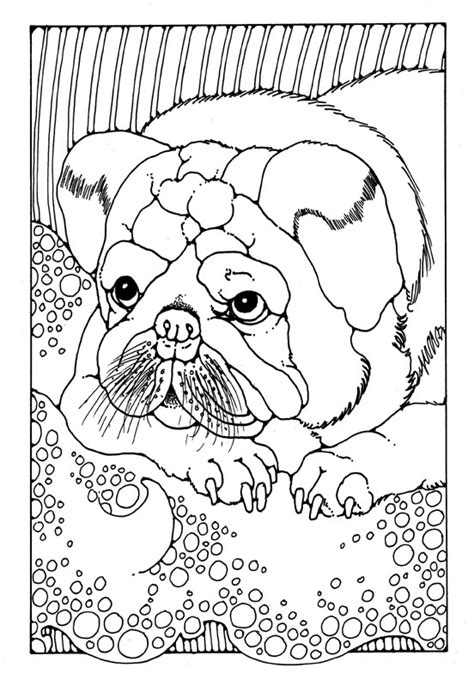 coloring pages of dogs for adults free coloring pages of zentangle dogs