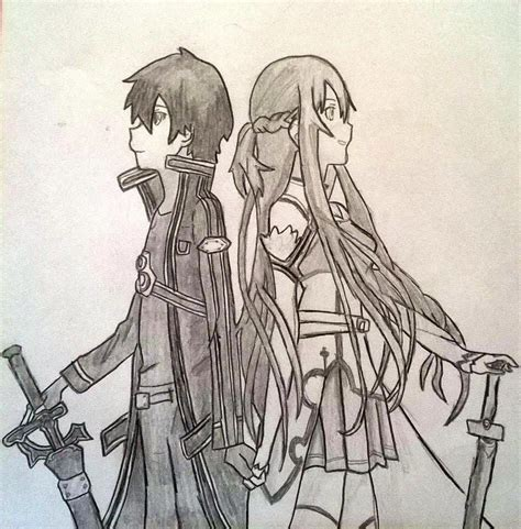 couple tattoo placement asuna and kirito from sword anime couples