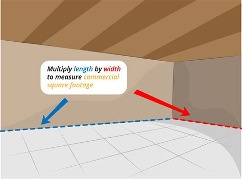 How To Figure The Square Footage Of A Room by How To Measure Commercial Square Footage 5 Steps