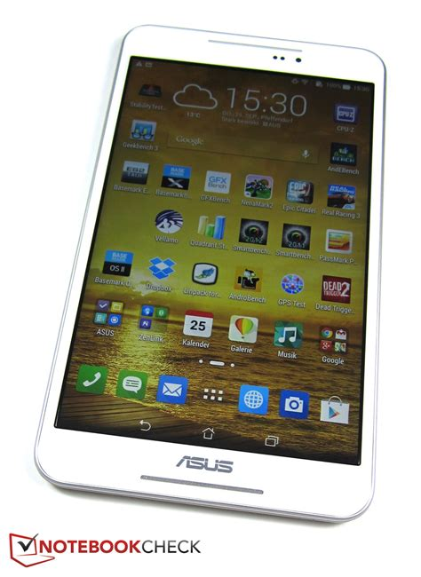 Tablet Fonepad 8 test asus fonepad 8 fe380cg tablet notebookcheck tests