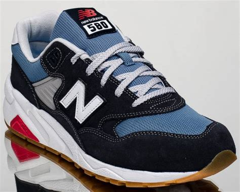 Sepatu Casual New Balance 580 Navy Made In new balance 580 nb nb580 lifestyle casual sneakers new navy mrt580 md kixify marketplace