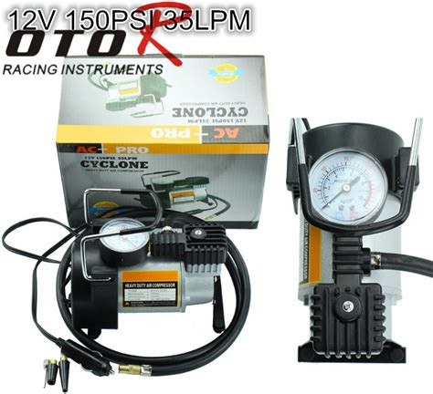 Jual Tire Inflator Heavy Duty Prohex Limited heavy duty portable 12v 150psi 35lpm car tyre auto tire air compressor