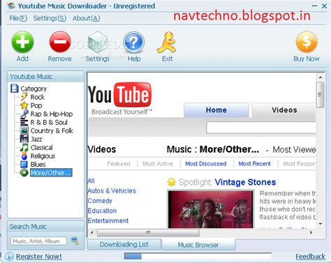 youtube song downloader free download navtechno youtube music downloader