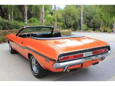 1970 Dodge Challenger Convertible Rental in Los Angeles
