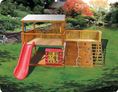 backyard cubby house safari pak cubby fort playground equipment