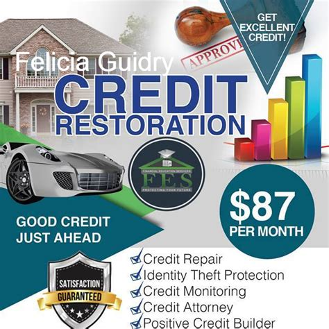 4 Real Credit Repair Black Owned Financial Services Credit Counseling Services In Houston On Credit Repair Flyer Template