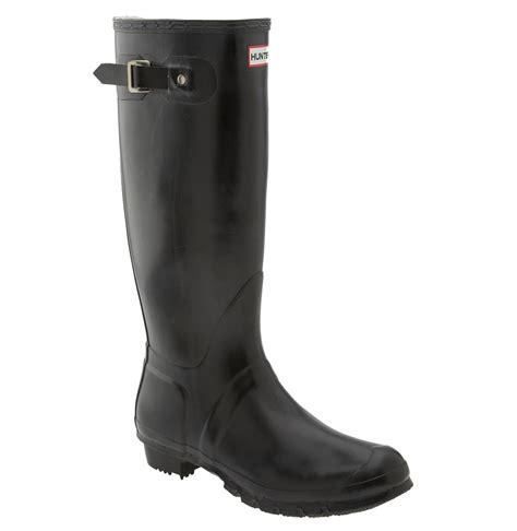 mens hunters boots original boot in black for lyst