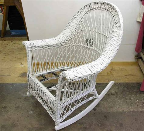 Repair Rocking Chair Wicker Rocker Repair Doyle Inc