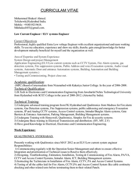 systems engineer sample resume beautiful control system engineer