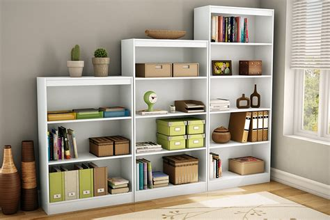 south shore axess collection 4 shelf bookcase white white bookshelves for your house goodworksfurniture