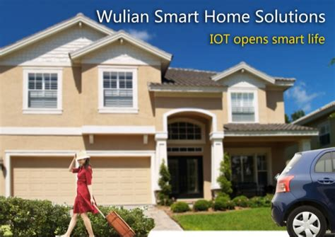 smart homes solutions wulian iot smart home solutions