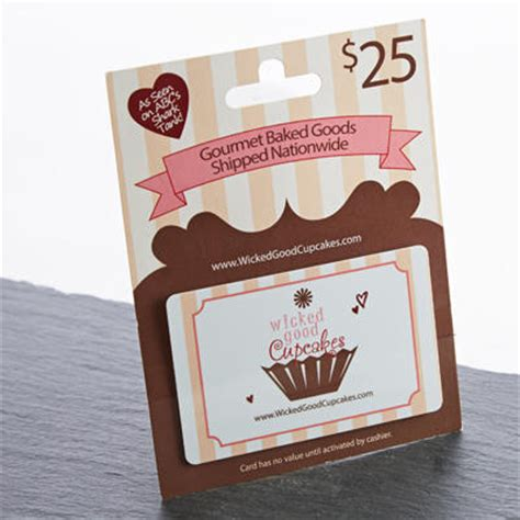 Good Gift Card - gift cards wicked good cupcakes