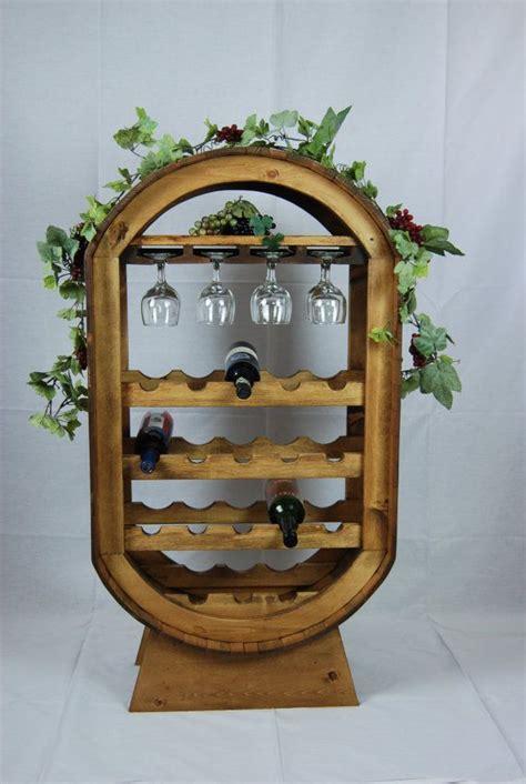 wine racks wooden rustic  woodworking plans