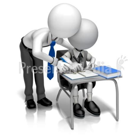 Man Teacher Helping Presentation Clipart Great Clipart For Presentations Www Presenter Medi