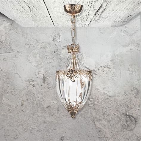 E2 Contract Lighting Products French Gold Pendant Gold Light Pendant