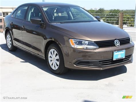 2013 Toffee Brown Metallic Volkswagen Jetta S Sedan