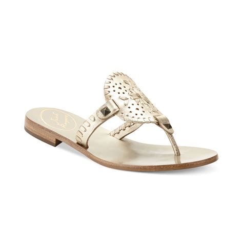 jacks sandals rogers georgica flat sandals in silver