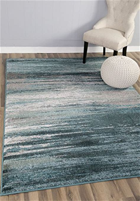 10 X 12 Area Rugs Blue Teal Gray Ivory - teal gray rug modern contemporary 5 3 quot x 7 7 quot 5x8